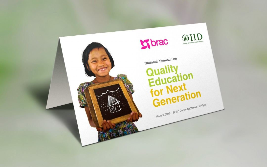 Quality Education for Next Generation