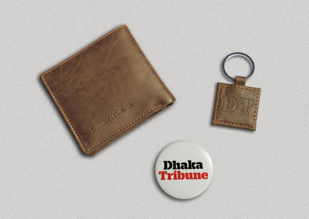Dhaka Tribune Badge & Money Bag